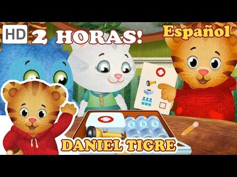 Daniel Tigre en Español - Nueva Compilación de Episodios de 2 Horas (Episodios en HD)