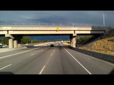 IH15 South through Lehi, Utah