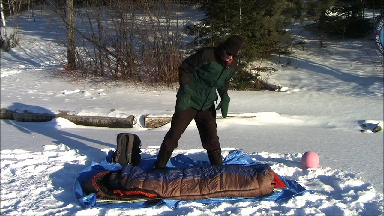 Winter Camping Sleeping Systems - YouTube