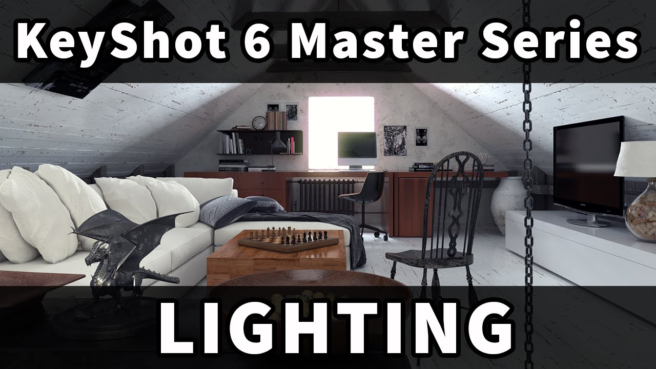 Keyshot 6 Master Series Lighting You