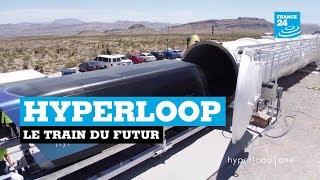 Hyperloop : Découvrez le train du futur
