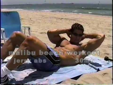 malibu beach workout-30mn jerry tone abs.