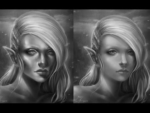 Critique Hour-Tips on how to avoid drawing aged characters!