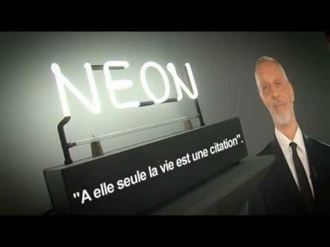Otto la minute d 39 art contemporain joseph kosuth n on for Neon artiste contemporain