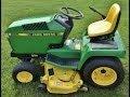 John Deere Riding Lawn Tractor w/ Mower Deck & Grass Catcher
