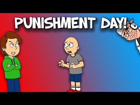 Classic Caillou Gets A Punishment Day