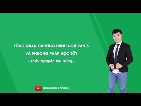 Tổng Quan Chương Trình Ngữ Văn 6 Và Phương Pháp Học Tốt - Thầy Nguyễn Phi Hùng - HOCMAI