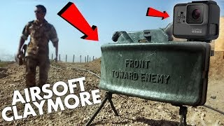 This is JUST UNFAIR | Airsoft Claymore with Motion Sensor