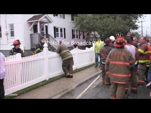 Cary Meltzer Freeport, NY House Struck Lightning Aftermath Minor Flooding July 25th 2016