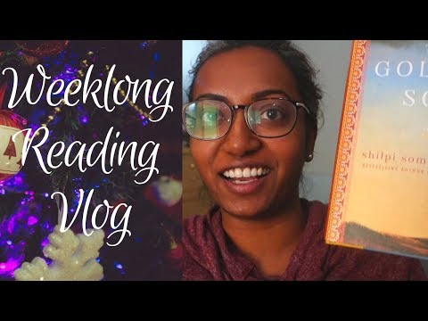 Attempting a Reading Vlog!