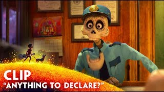 """Anything to Declare?"" Clip - Disney/Pixar"