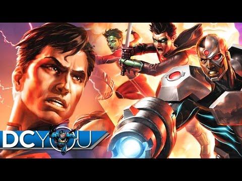 Justice League vs Teen Titans (2016) Movie Review