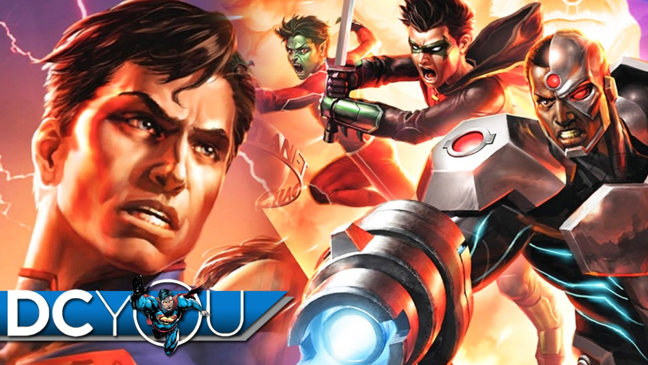 Download Justice League vs Teen Titans (2016) Movie Review