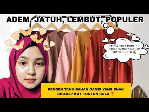 Download REVIEW BAHAN GAMIS TERPOPULER DI SHOPEE 2021  Sebelum beli gamis wajib tonton!