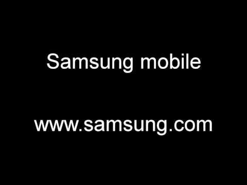 Samsung GT-E1180 Startup