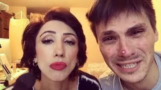 Лилия Абрамова tatarkafm & Андрей Борисов Gan 13  МАМА и Сын  подборка вайнов ржу не могу
