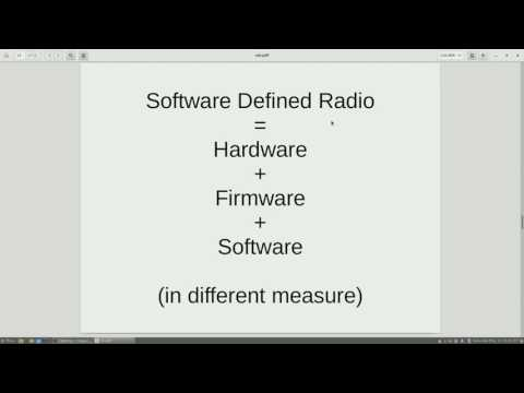 LinuxFest Northwest 2017: Democratizing Wireless Networks with Software Defined Radios
