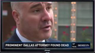 Prominent Dallas attorney Brian Loncar found dead