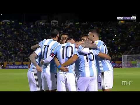 Argentina vs Ecuador 3 1 All Goals & Highlights 11 10 2017 2