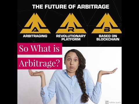 What is Arbitrage ?  and demo of the Arbitraging ICO software