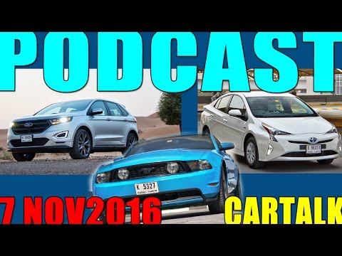 Podcast Cartalk Dubai Radio 7 November 2016