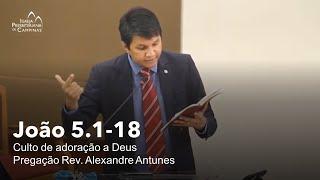 Culto Matutino - 13.12.2020