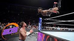 Cedric Alexander vs. Drew Gulak - WWE Cruiserweight Championship Match: WWE 205 Live, Sept. 19, 2018