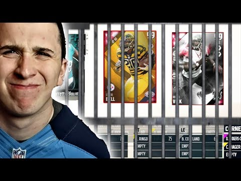 ONLY Drafting PLAYERS WHO Have Been TO JAIL! Madden 18 Draft