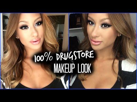 100% Drugstore Heavy Glam- Complete Look
