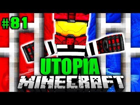 EINGESPERRT im GEFÄNGNIS?! - Minecraft Utopia #081 [Deutsch/HD]