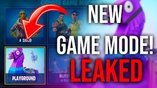 "NEW ""Playground"" LTM GAMEMODE IN FORTNITE! Play AGAINST Friends!"