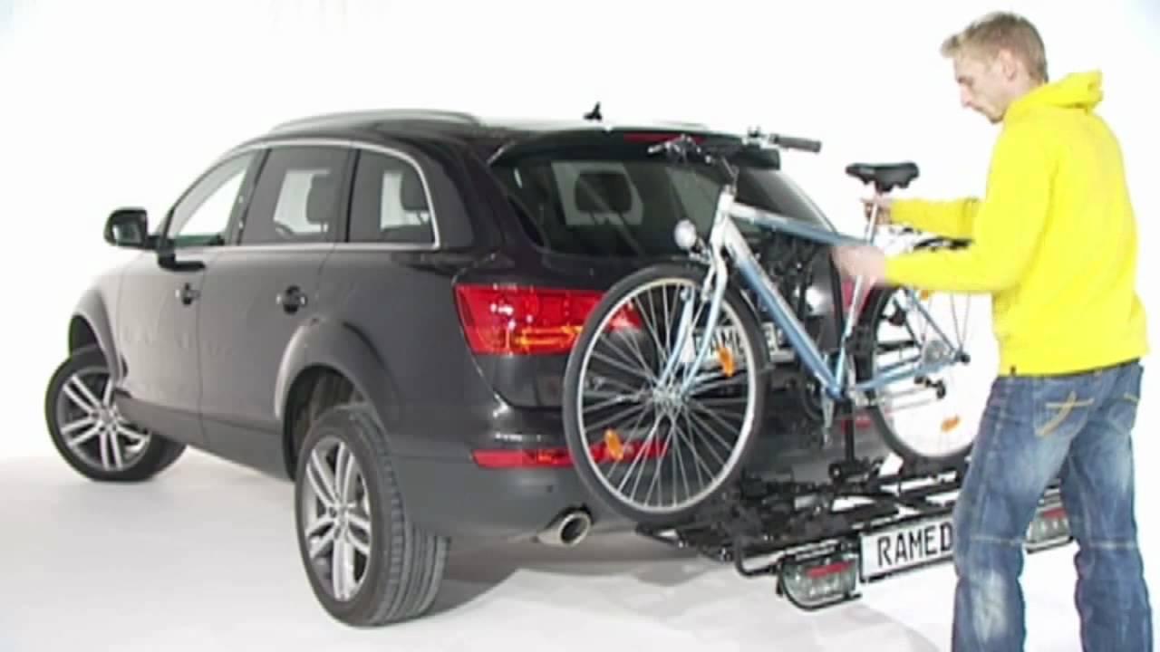 rameder fahrradtr ger mft multi cargo 2 family youtube. Black Bedroom Furniture Sets. Home Design Ideas