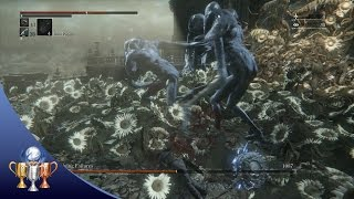 Bloodborne Living Failures Boss Fight - The Old Hunters DLC