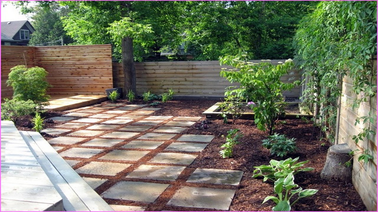 Backyard ideas on a budget youtube for Patio landscaping ideas on a budget