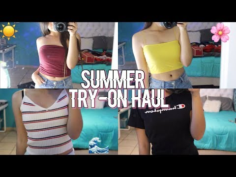 Summer Try-On Haul 2018 | Pacsun, Hollister, American Eagle + more !