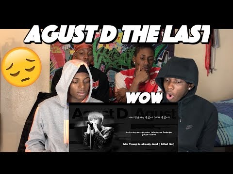 Free Download Bts Suga (agust D) - The Last 마지막 - Reaction Mp3 dan Mp4