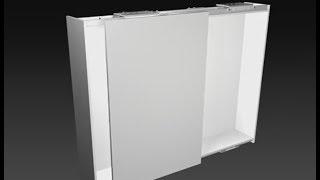 平面拉門 - 義大利CINETTO PS40平面雙向緩衝拉門 施工影片 - 騰泰國際五金