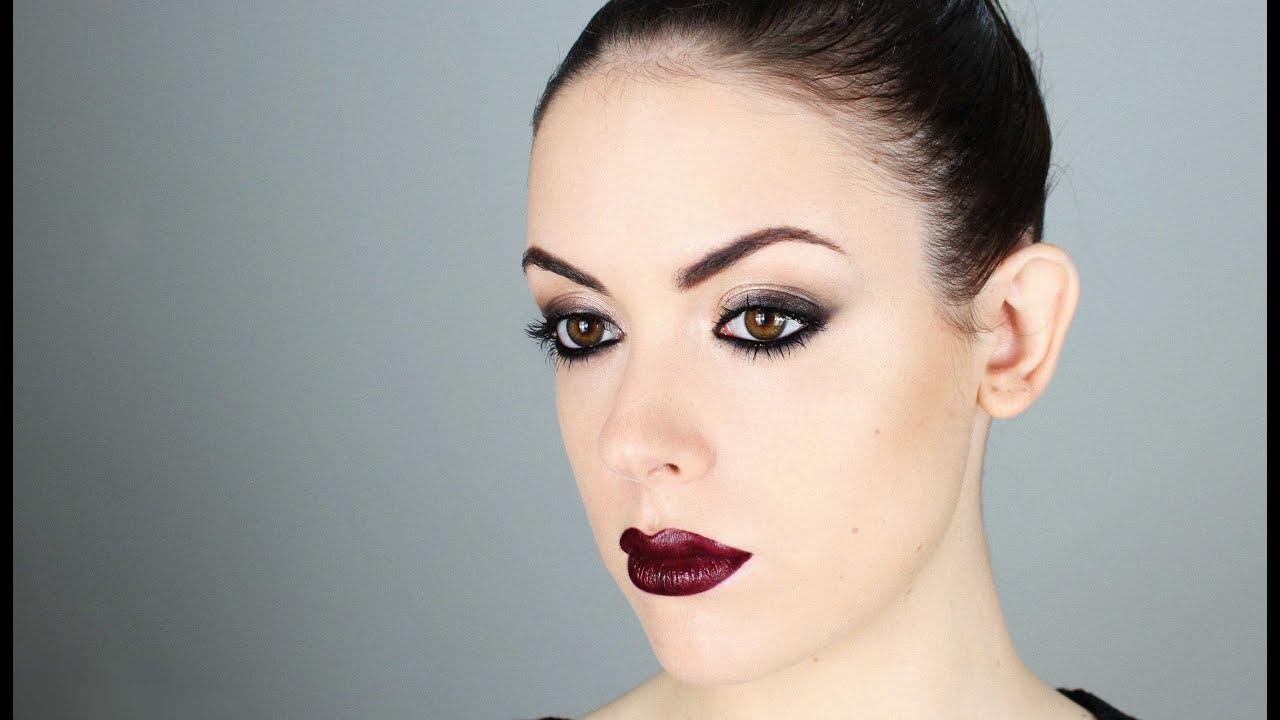 Dark Lips - Makeup Tutorial - YouTube