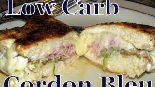 Atkins Diet Recipes: Low Carb Chicken Cordon Bleu (if)