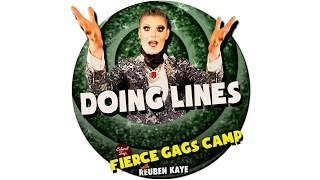 Fierce Gags Camp - Doing Lines