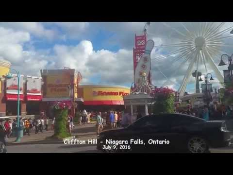 Niagara Falls - Clifton Hill 2016 - Ontario Tourism Summer Activities