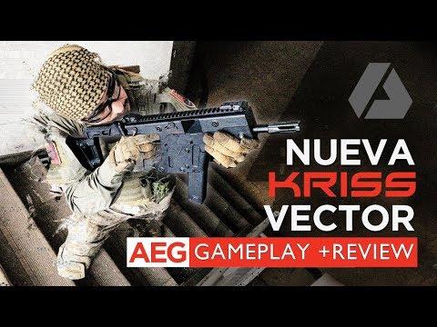 Nueva Kriss Vector Eléctrica Krytac AEG - Gameplay + Review en Español