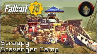 FALLOUT 76 |  Scrappy Scavenger Camp Build