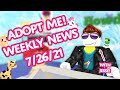 Gambar cover WYVERN PET REVEALED!🐲Candy Cannon gets an update!🦋🌈Weekly News 7/26👁🗨 Adopt Me! on Roblox