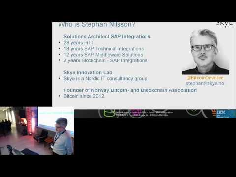Integrating blockchain in SAP and IBM ERP systems