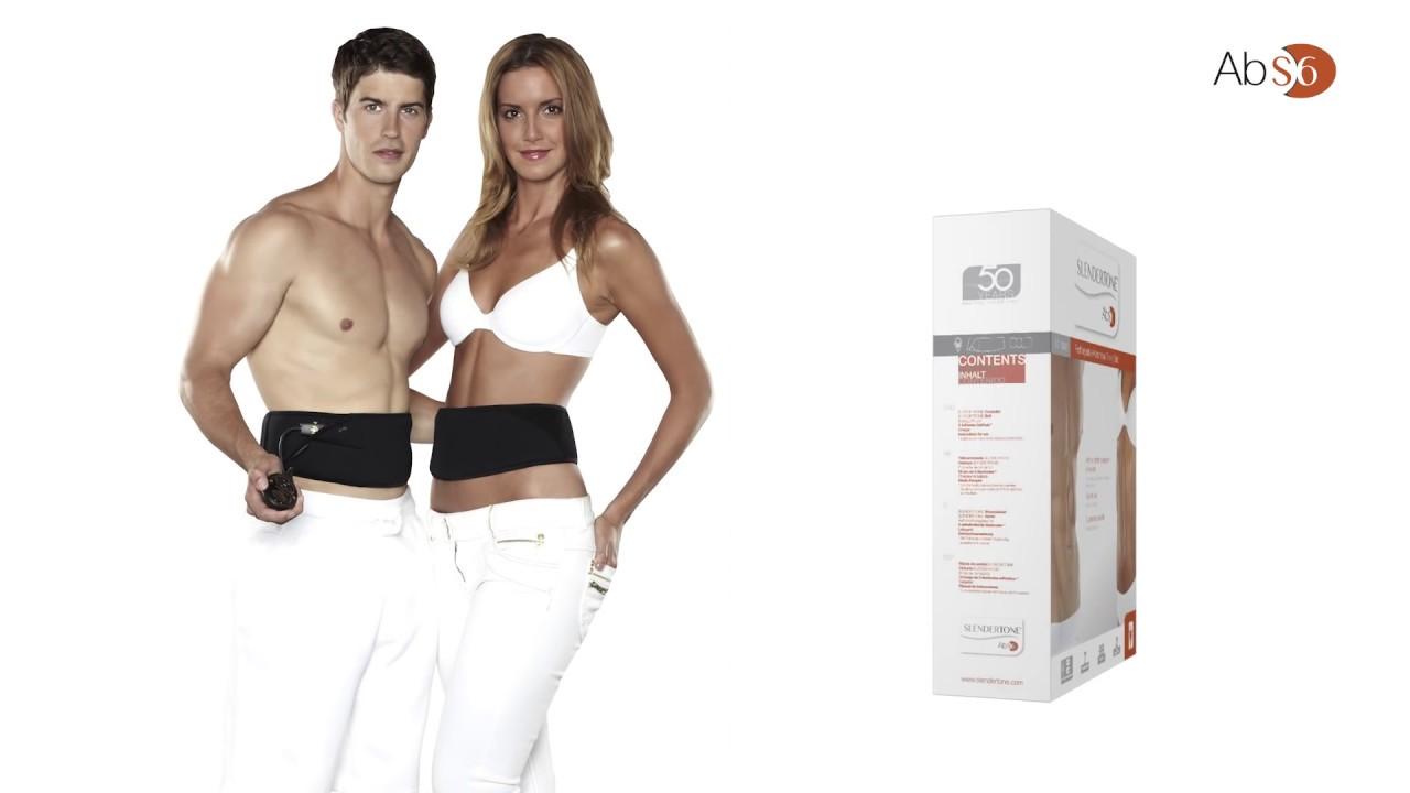 how slendertone abs unisex abdominal toning belt works youtube. Black Bedroom Furniture Sets. Home Design Ideas