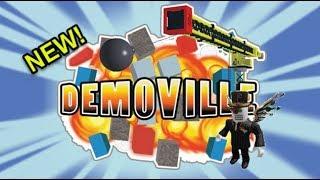 Roblox Demoville: Boom!!