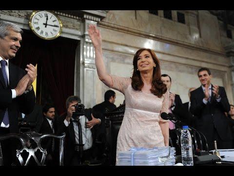 01 de MAR. [Transmisión completa] Apertura de Sesiones Ordinarias 2015. Cristina Fernández.