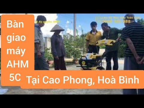 Đại lý AHM tại Hòa Bình bàn giao máy cày xới 5C225 | Liên hệ AHM: 0966 365 988