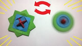 HOW TO MAKE A ORIGAMI FIDGET SPINNER